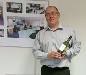 Alastair receives employee of the month for June