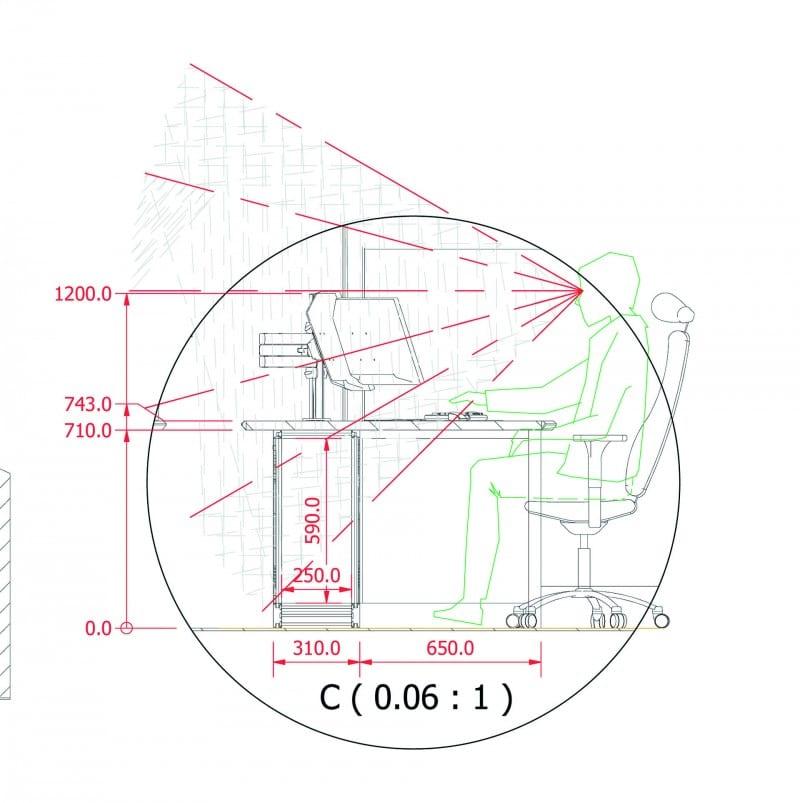 space identification diagram