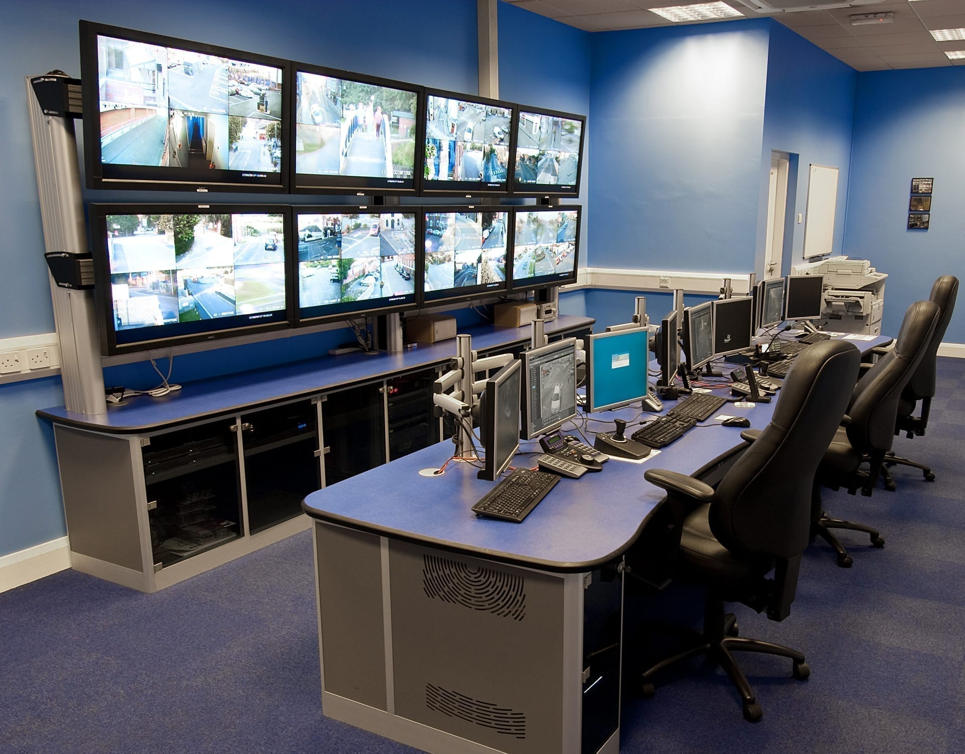 Cctv Control Room Case Study Thinking Space Systems