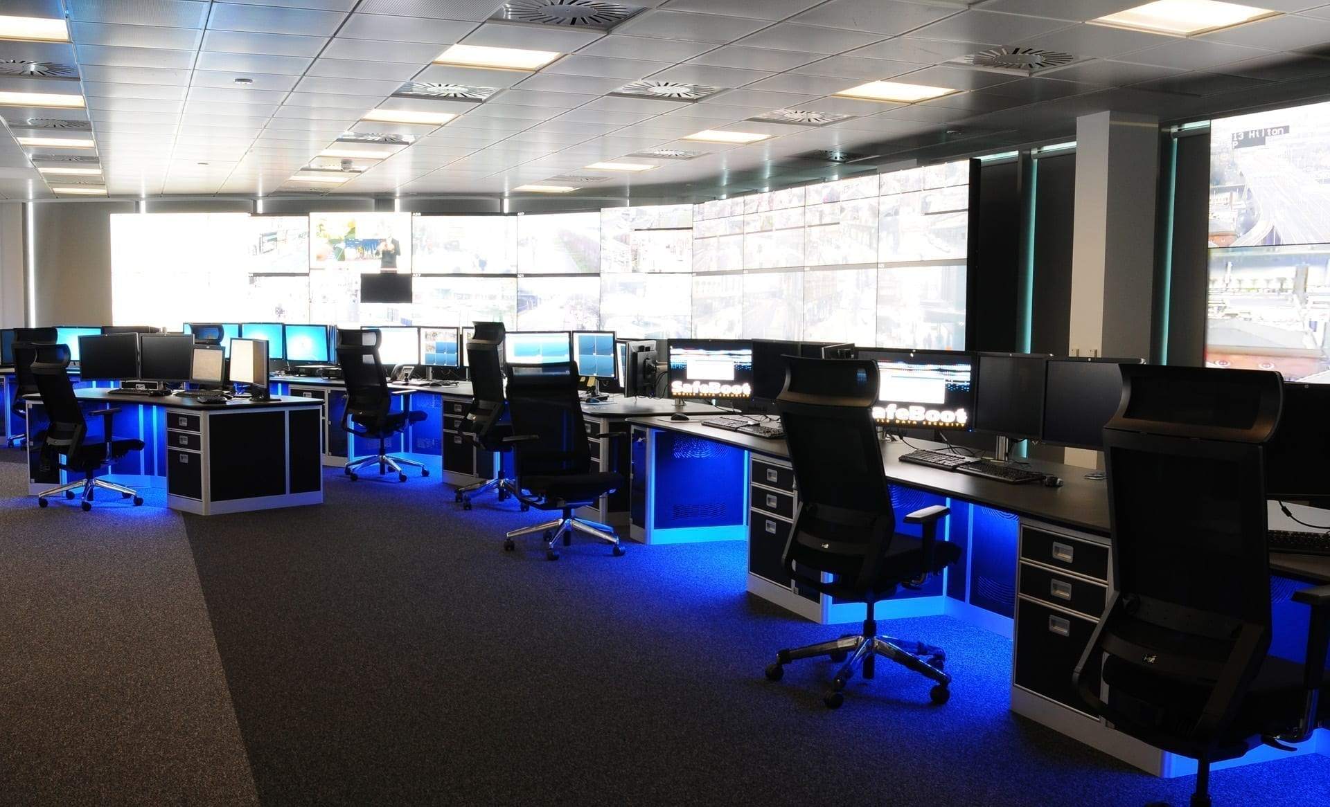 Security Consoles And Control Room Furniture Thinking