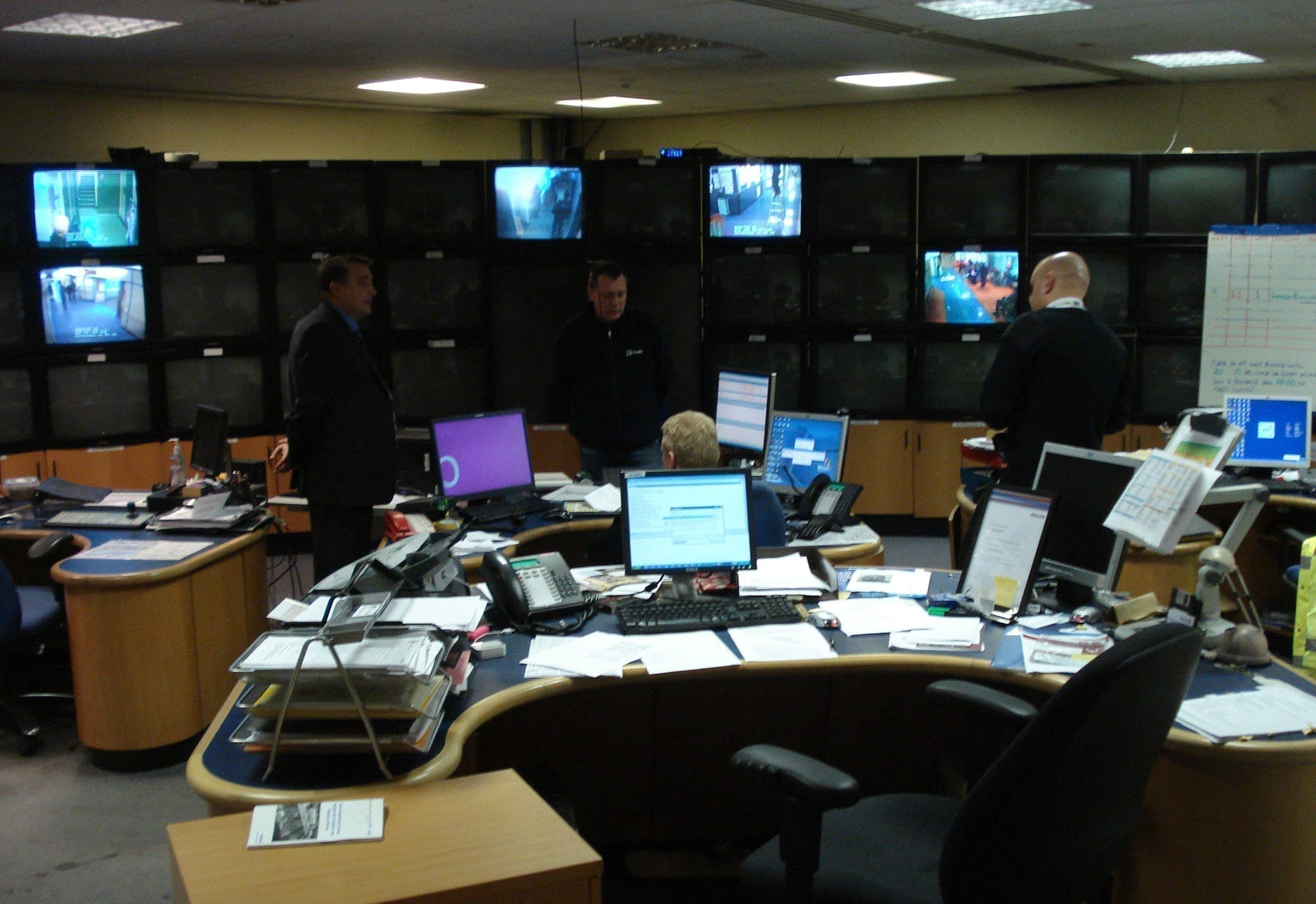 Manchester MRI control room before