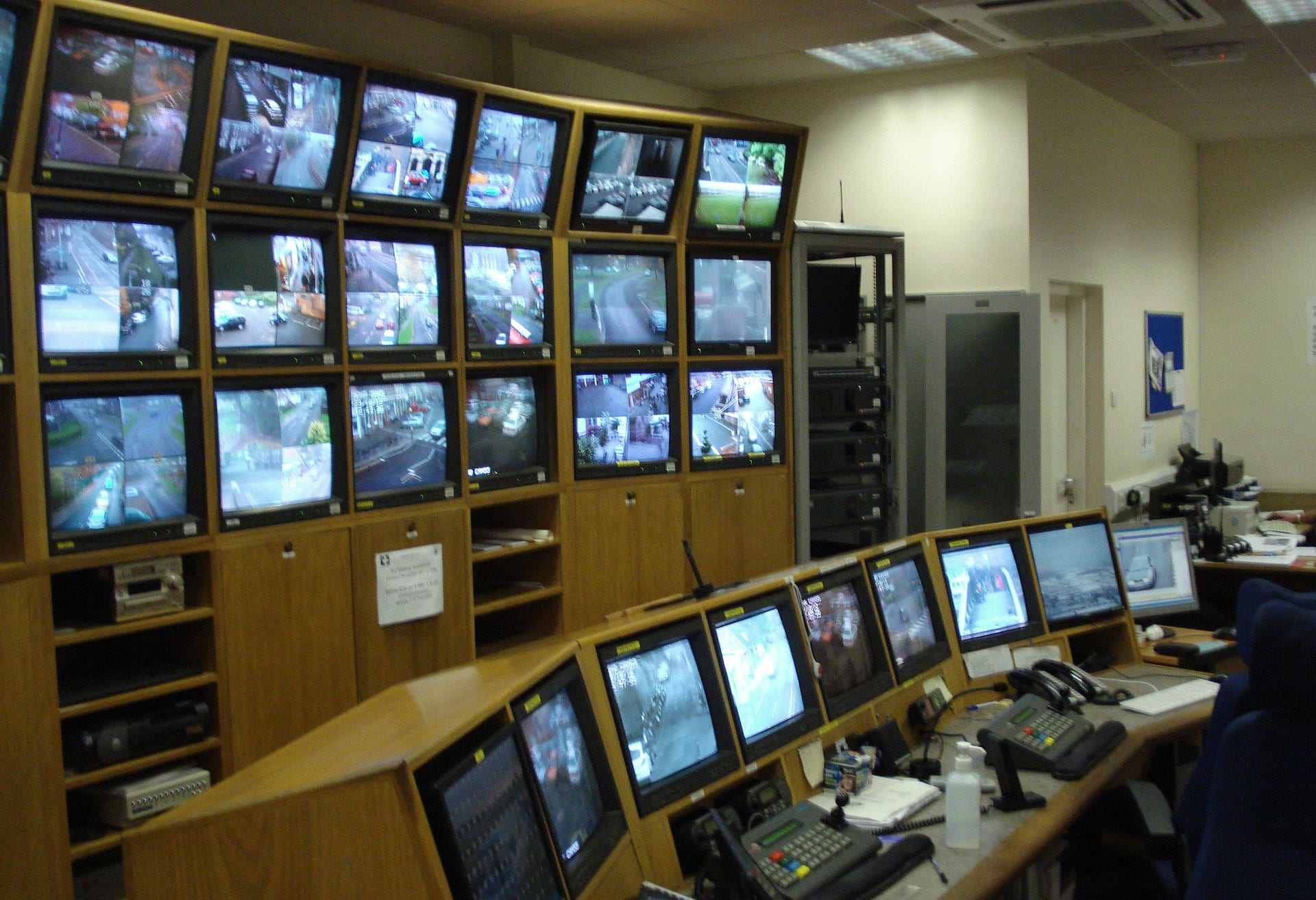 CCTV control room case study | Thinking Space Systems
