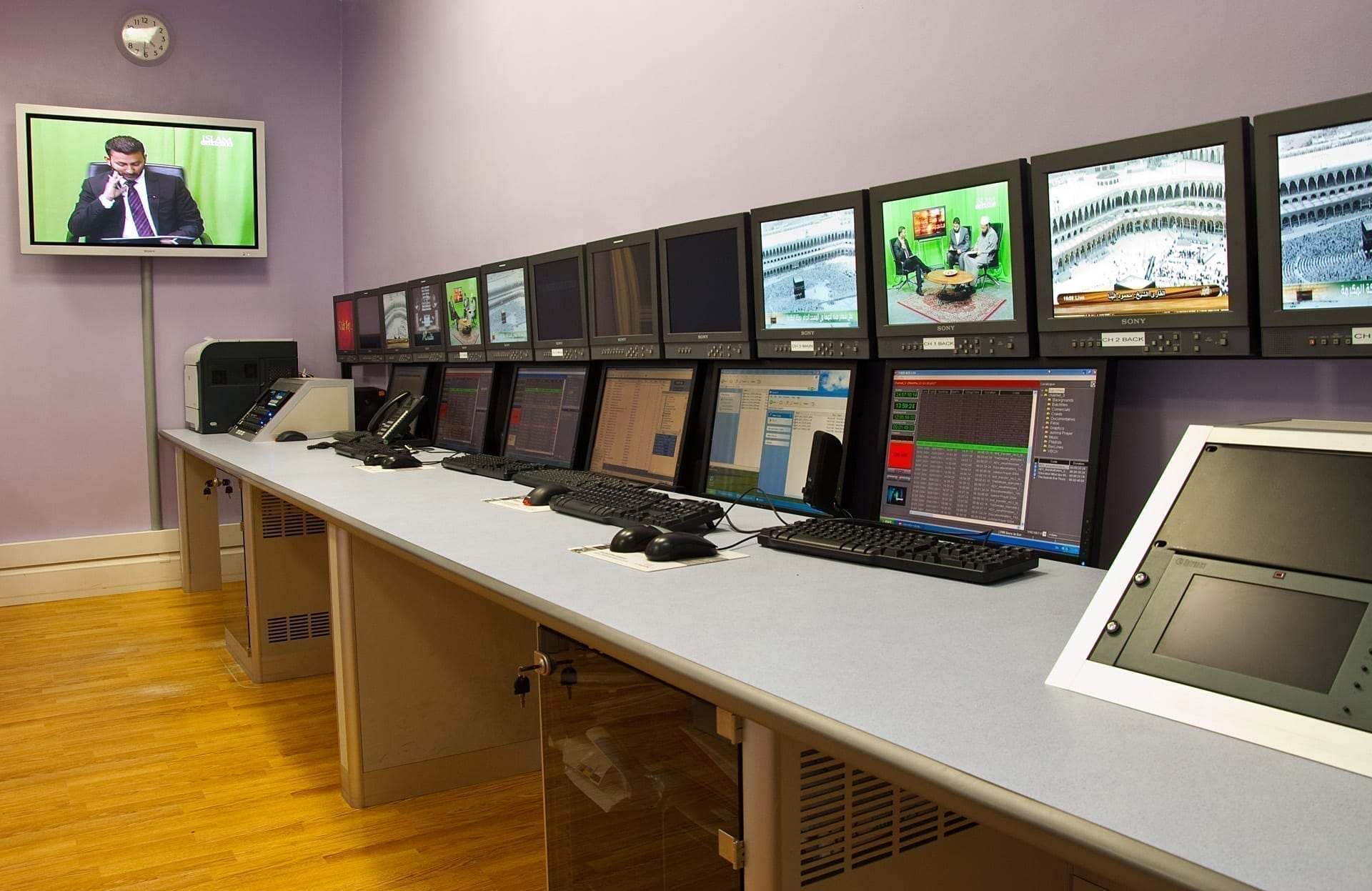 broadcasting furniture-islam channel-broadcasting suite