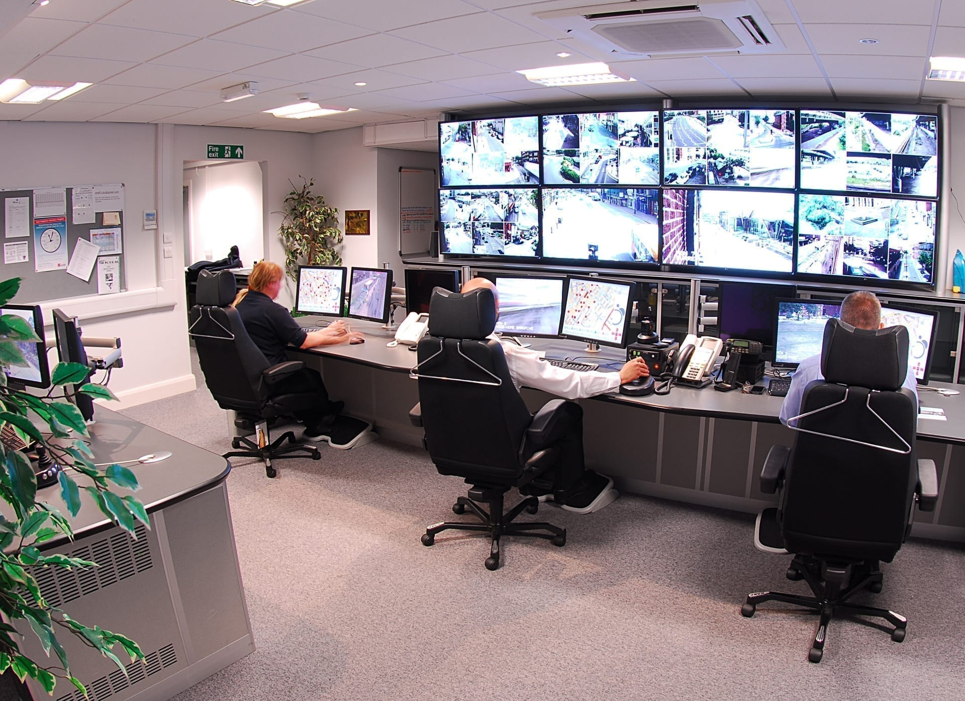 Case Study Cctv Amp Traffic Centre Sheffield City Council Thinking Space Systems