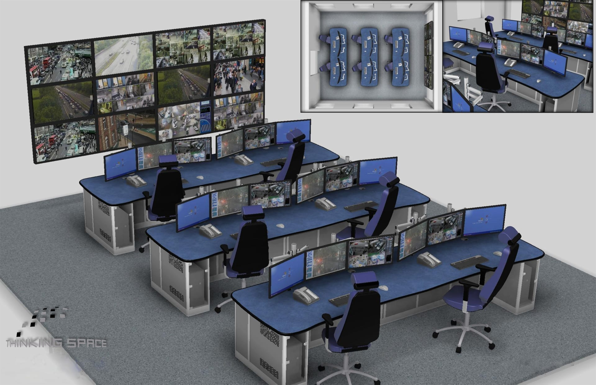 york travel and control centre render drawing