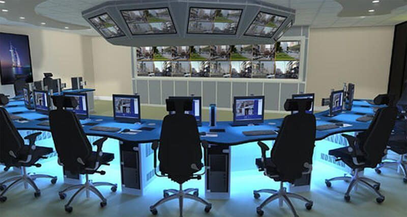 Design Render Control Room Part 66