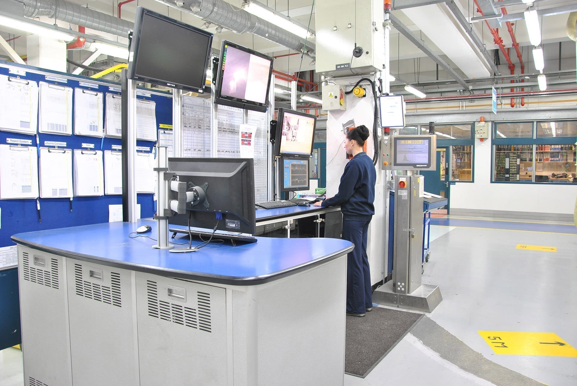 manufacturing plant control room example