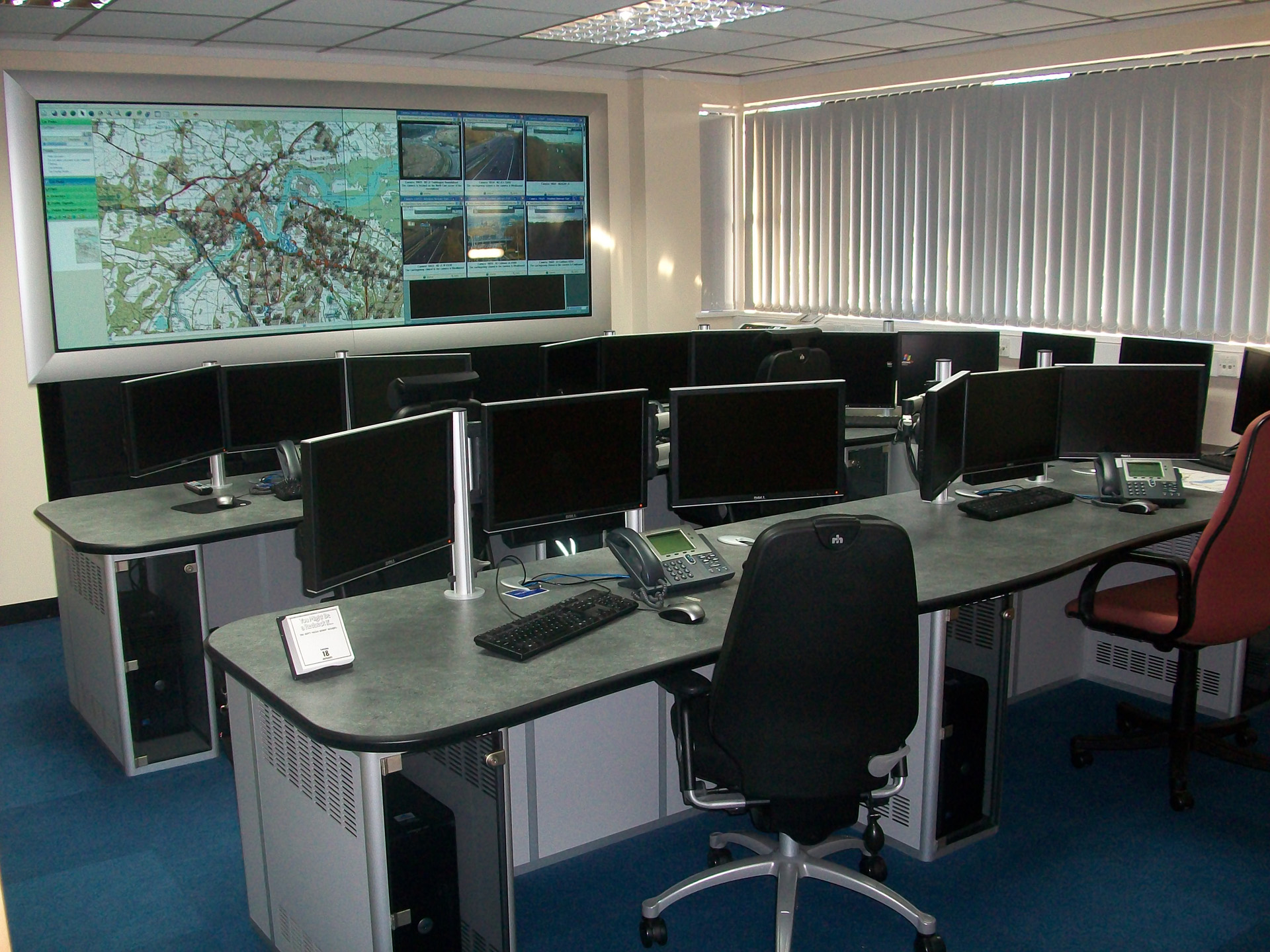 medway transport control room