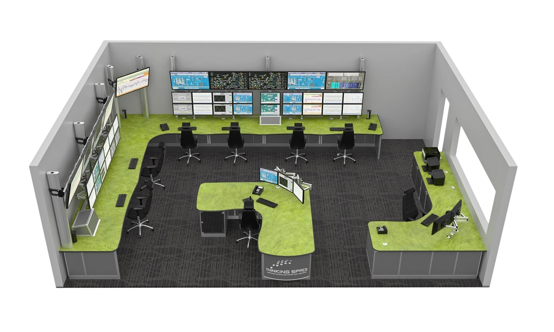 Control Room Design And Consultation Thinking Space Systems