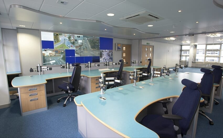 The old site: Sheffield Urban Traffic Management Suite at Carbrook