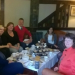 afternoon-tea-for the ladies at-the-white-horse