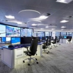 Control room consoles installed en-mass for Bristol City Council