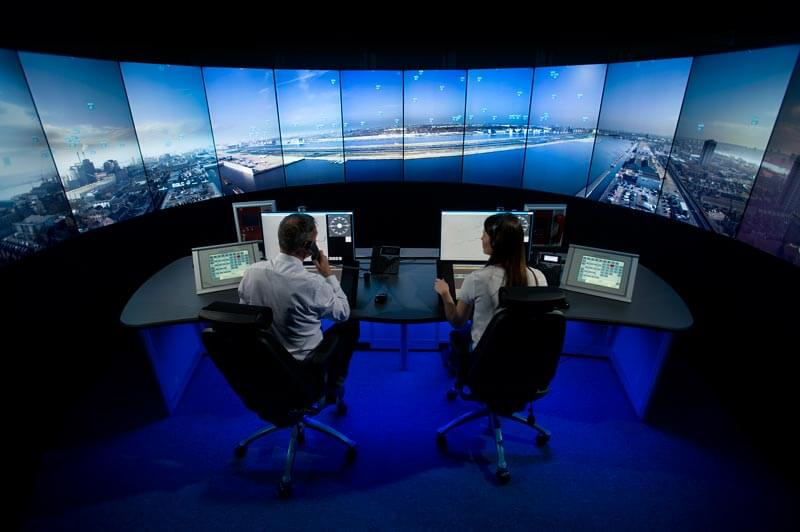 consoles for london city airport digital air traffic control tower