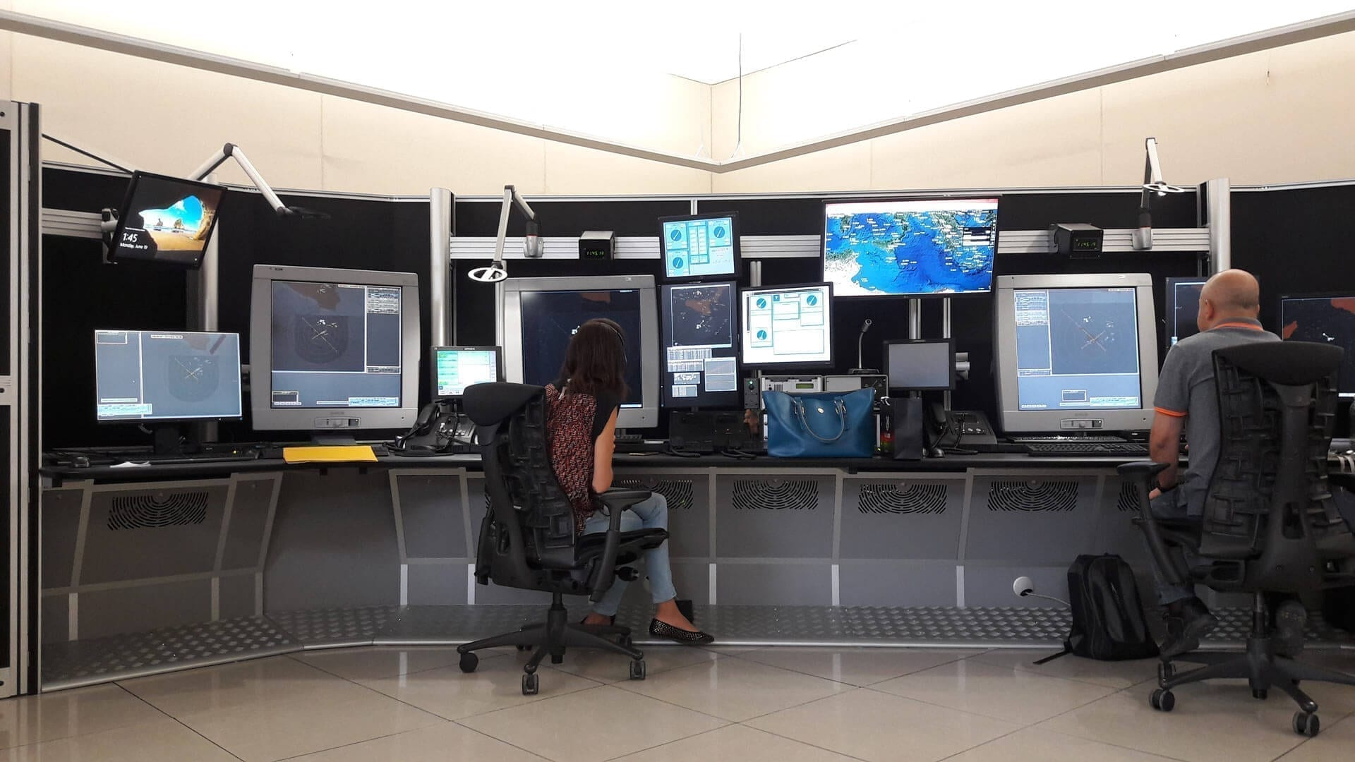 Case Study Malta International Airport: new radar consoles