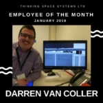Employee of the Month January 2018 photo