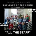 Employee of the Month December 2017