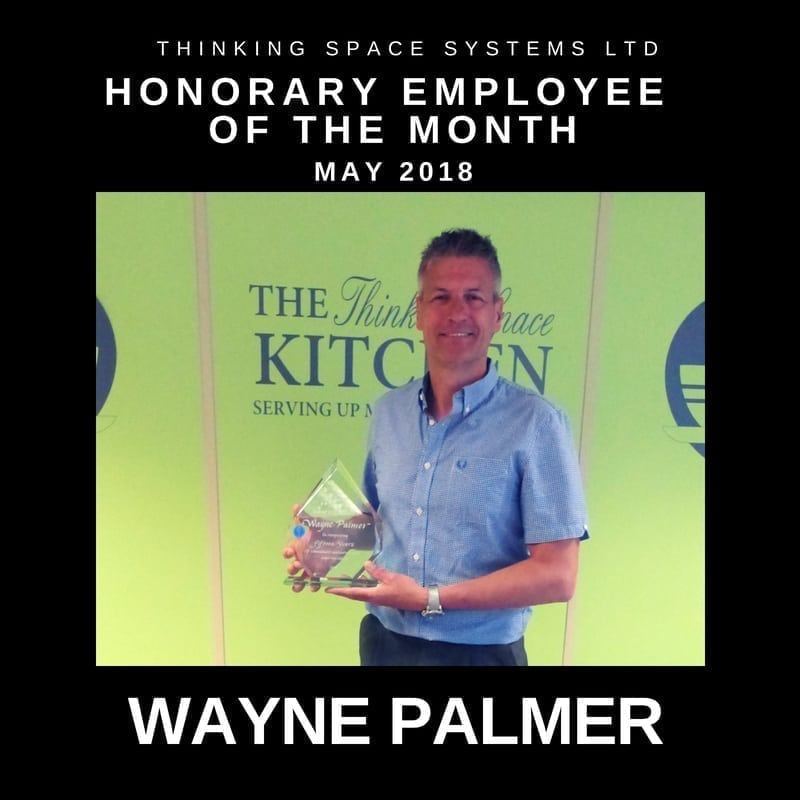 Employee of the Month May Wayne Palmer