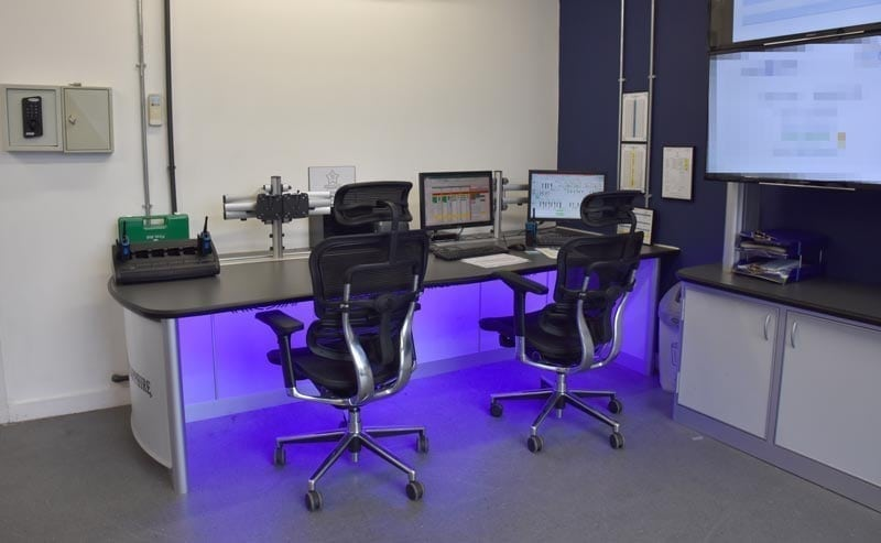 Case Study Process Control Room Furniture for Bombay Sapphire