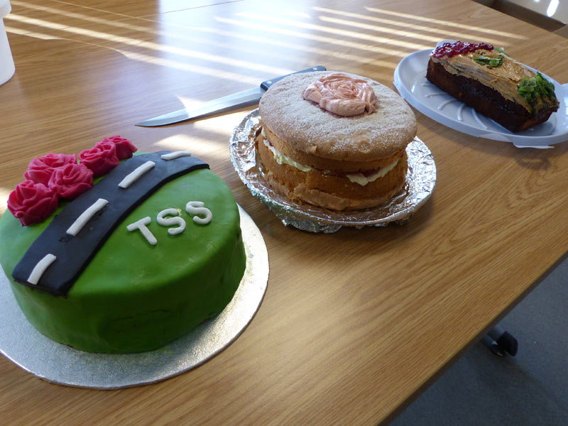 TSS bake off 2018 final cakes