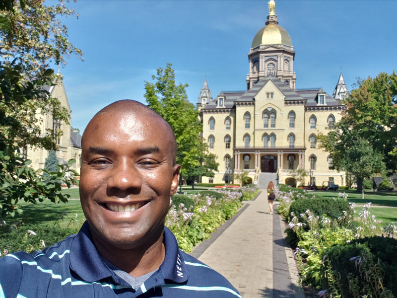 kevin-johnson-thinking-space-usa-at-university-of-notre-dame
