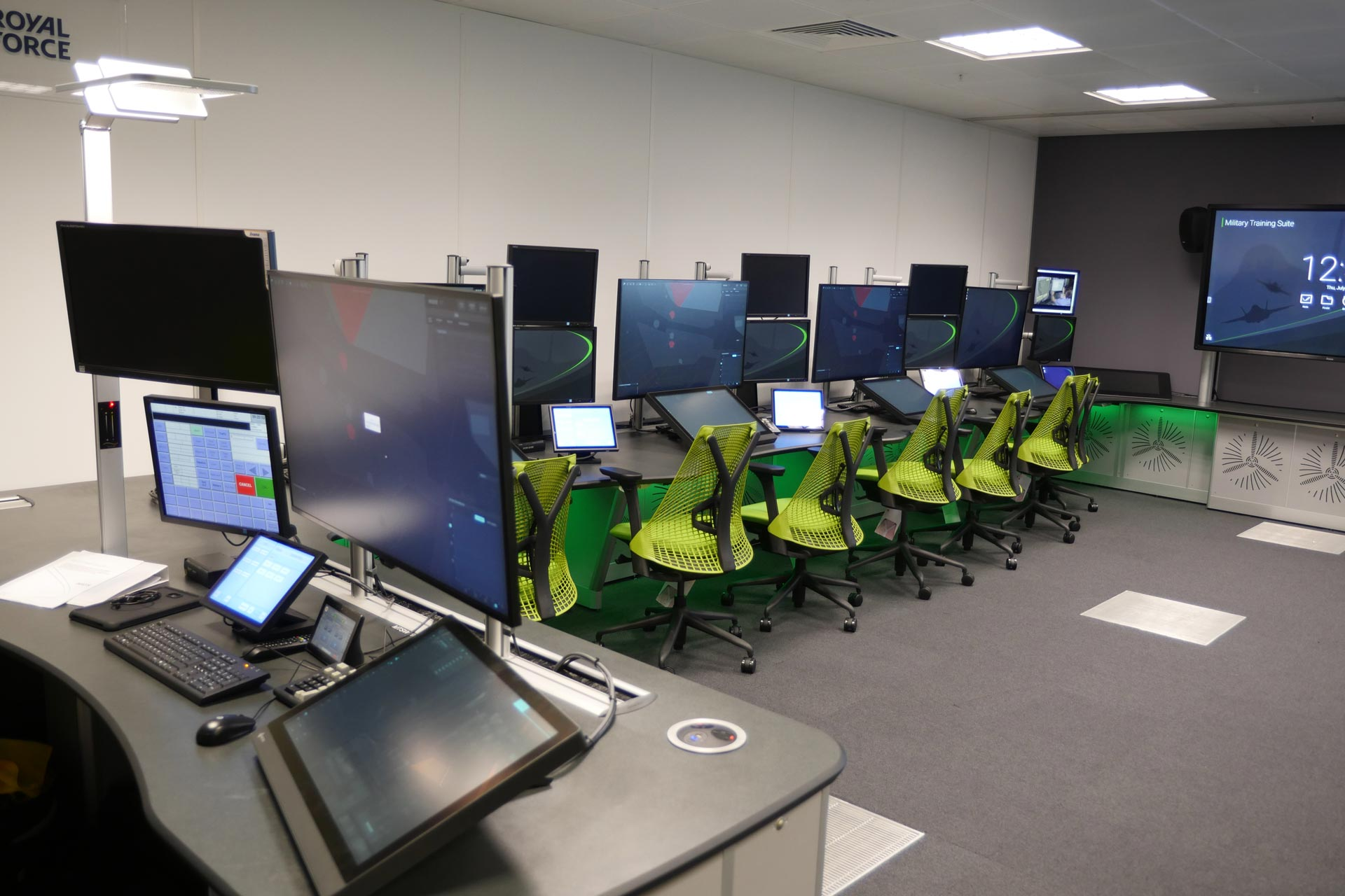 Case Study Military Training Suite for NATS