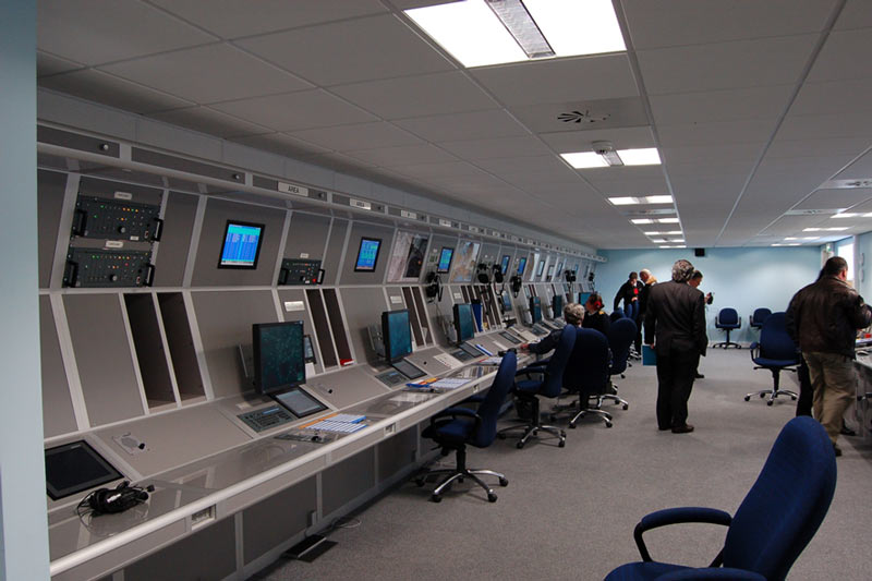 military control room