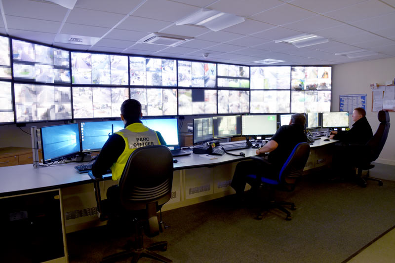 plymouth city council cctv control room