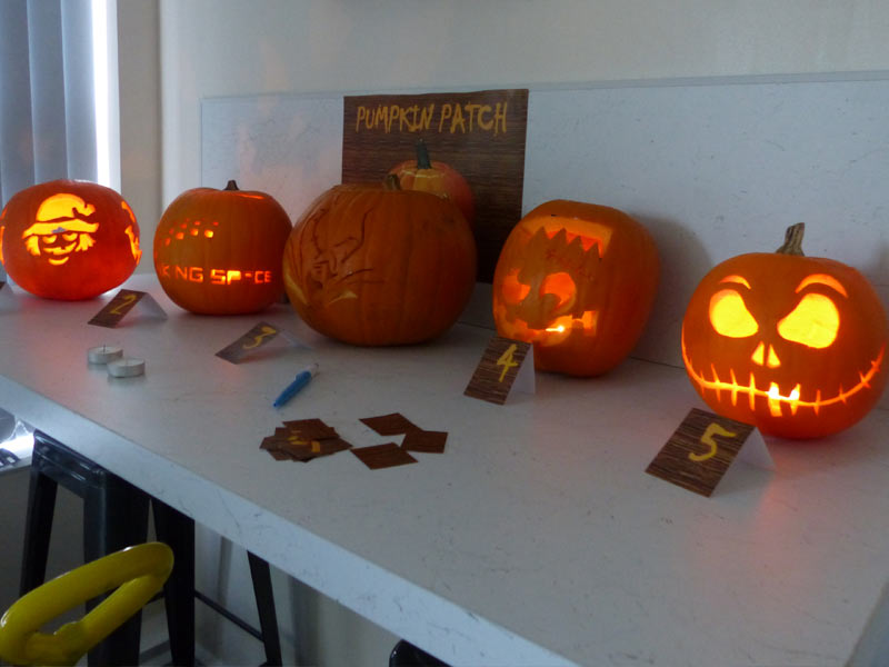 pumpkin carving competition 2019