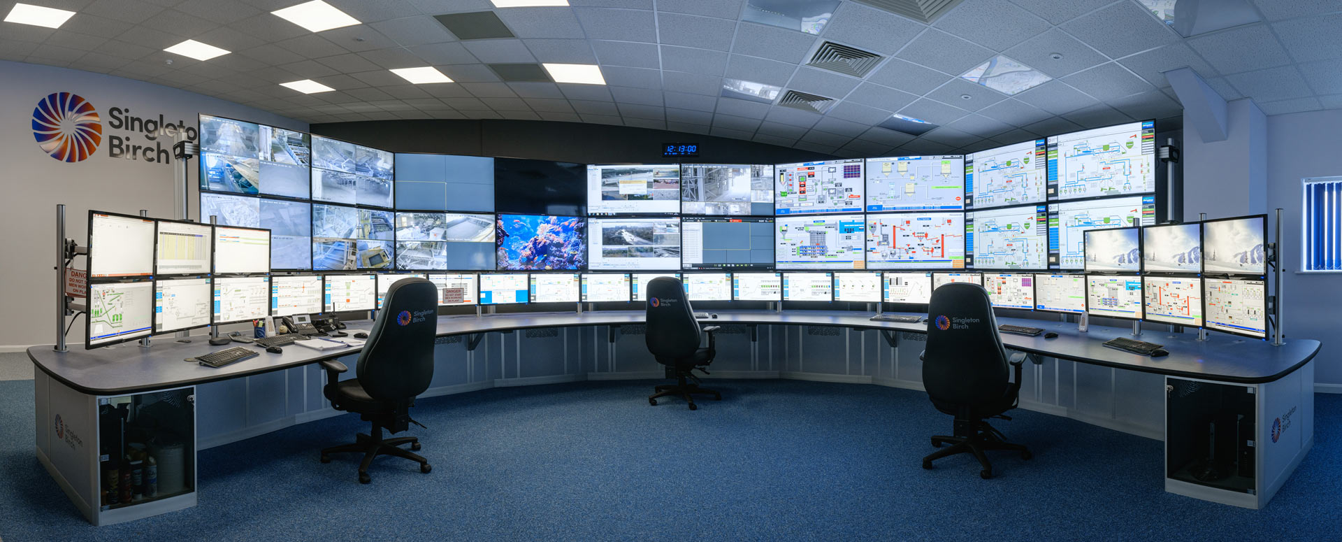 control room furniture for process control room
