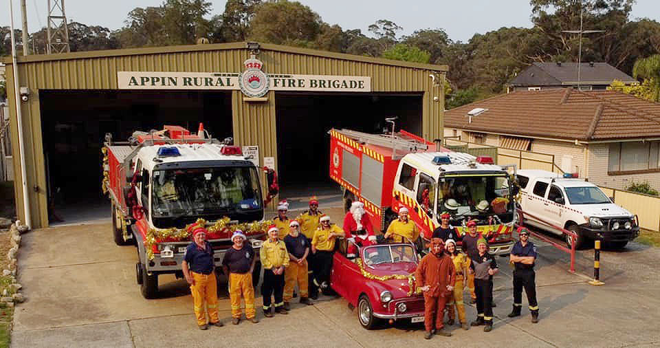 fighting fires 2019 NSW
