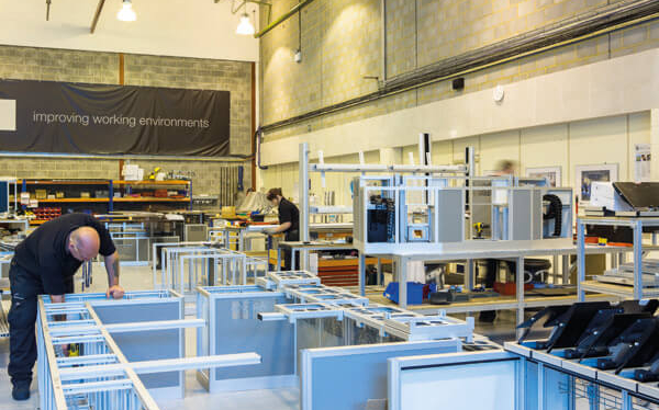 inside the factory Thinking Space Systems